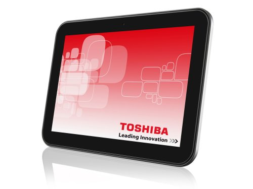 Toshiba AT300SE-101 25,7 cm (10,1 Zoll) Tablet-PC (NVIDIA Tegra T30L, 1,3GHz, 1GB RAM, 16GB eMMc, Android OS) silber