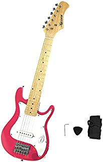 Kids Karrera Electric Guitar And Ideal Childrens Gift Junior - Pink