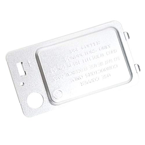 Samsung DC97-08855A Dryer Terminal Block Cover Genuine Original Equipment Manufacturer (OEM) Part