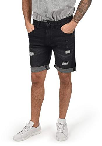 INDICODE Hallow - patalón baquero corto para Hombre, tamaño:M, color:Black (999)