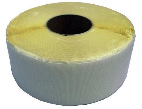 クラレファスニング 粘着付 マジックテープA面フック 幅100mm 長さ25m 白 箱入り