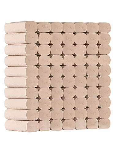 CHENYAO Huishoudelijk Toiletpapier 3-laags Milieubescherming Rolpapier Handdoeken Betaalbaar Zacht Toiletpapier (42 Rollen / 3 Vermeldingen)