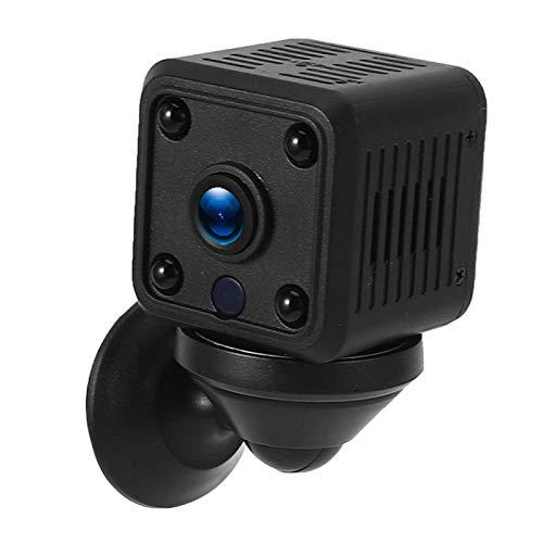 Pwshymi Visión nocturna Mini cámara Monitoreo para monitoreo al aire libre para seguridad en la oficina en el hogar (regulación británica)