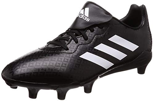 adidas Engage AG All Ground Mens Rugby Union Boot Black/White - UK 9