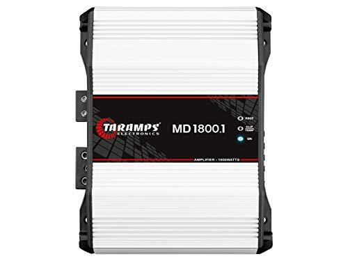 Taramp's MD 1800.1 2 Ohms 1800 Watts Class D Full Range Mono Amplifier