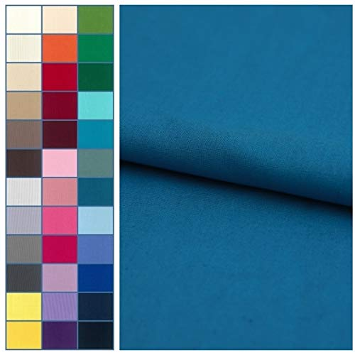 COTTONVILL 20COUNT Cotton Solid Quilting Fabric...