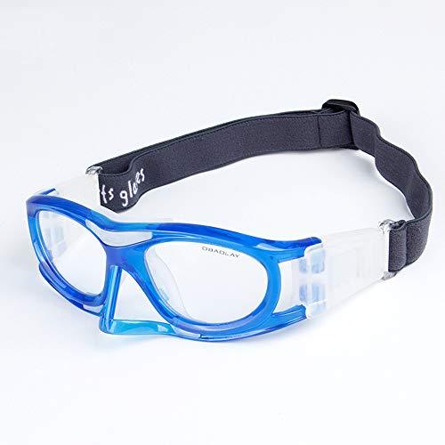 ZzWEI Basketbal voetbal Tennis sportbril, explosieveilige lenzen, slagvaste ademende veiligheidsbril trainingsbenodigdheden