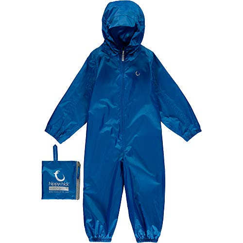Hippychick Waterproof Packasuit All in One Suit - Nebulas Blue 12-18mths