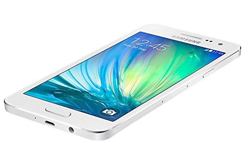 Samsung SM-A300FZWUDBT A300F Galaxy A3 Smartphone (11,4 cm (4,5 Zoll), 8 Megapixel, 16 GB internen Speicher,  64 GB erweiterbar, Android) perlweiß