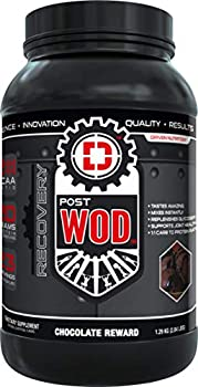 POSTWOD Post Workout Recovery Supplement- Muscle Builder with Whey Protein Powder and Carbs |Creatine BCAA MCT Oil and Joint Repair| Chocolate Reward