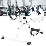 Mini vélo d'appartement, mini exercice magnétique multifonction, vélo à main, pédale, entraîneur pour entraînement de bras et jambes.