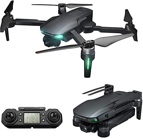 JJDSN Drone con cámara de 3 Ejes 6K 5G WiFi GPS FPV Professional 2KM 30 Minutos RC Mini Drone Motor sin escobillas Quadcopter, 3 baterías