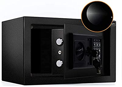 JUGREAT Security Safe Box with Induction Light
