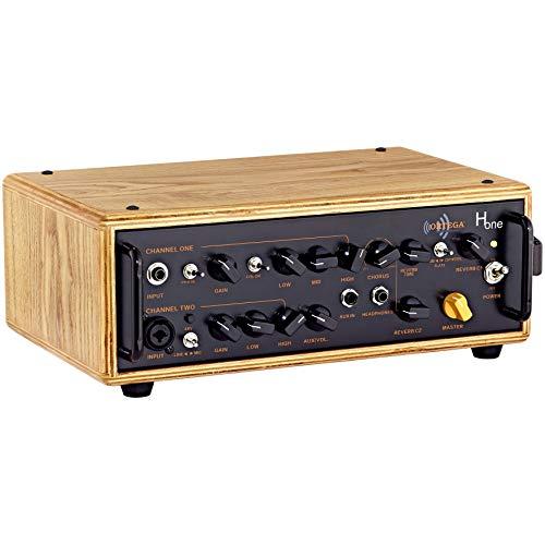ORTEGA Acoustic Amplification Akustikgitarren-Topteil - 2 Kanal 100W RMS + Tragetasche (HONE)