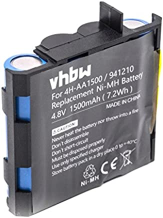 vhbw NiMH Batterie 1500mAh pour simulateur Musculaire Compex PerformanceE Mi-Ready, Runner, SP 2.0, SP 4.0, Sport Elite, Vitality