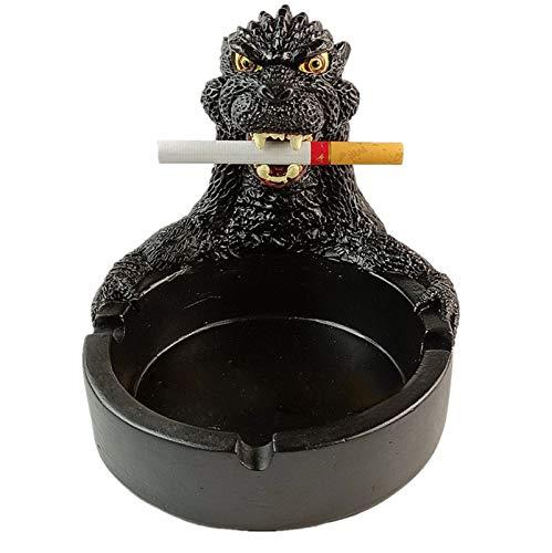 YXST Cenicero,Soporte De Ceniza De Cigarrillo para Fumadores Cenicero Personalidad Creativa Cenicero De Puros,DecoracióN Retro De Hogar U Oficina