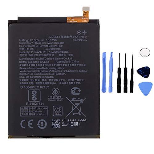 Ellenne Batteria Compatibile con ASUS ZENFONE 3 Max C11P1611 ZC520TL AD Alta capacità 4130MAH con Kit SMONTAGGIO Incluso by Store