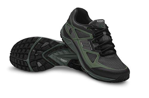 TOPO Terraventure Trail Chaussures de course pour homme Gris anthracite/vert 8.5