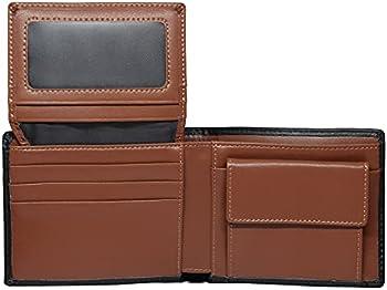 Leather Men's RFID Blocking Slim Credit Card Holder Wallet (4 colors)