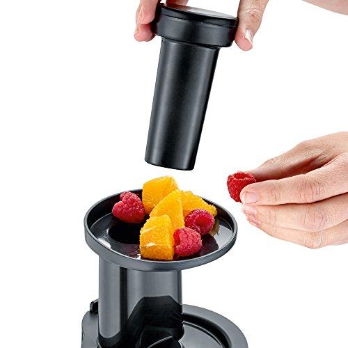 Slow Juicer 150 W mit Frozen Fruits Aufsatz Bild 2*