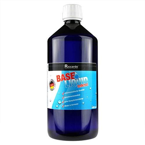 Riccardo Glycerin (VG) E422, Base 0,0 mg Nikotin, zum Mischen von Basisliquid, 1000 ml