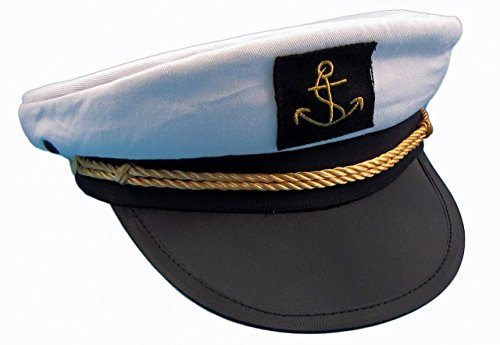 Kapitänsmütze von Modas Gr. 57