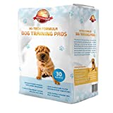 Uploria Pet World Puppy Training Pads 30-Pack|60cm x 60cm New Super Absorbent Size|This