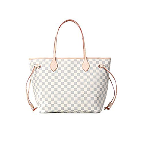 yjll Woman Neverfull Style Designer Woman Organizer Bolso Damier Tote Hombro Fashion Bag