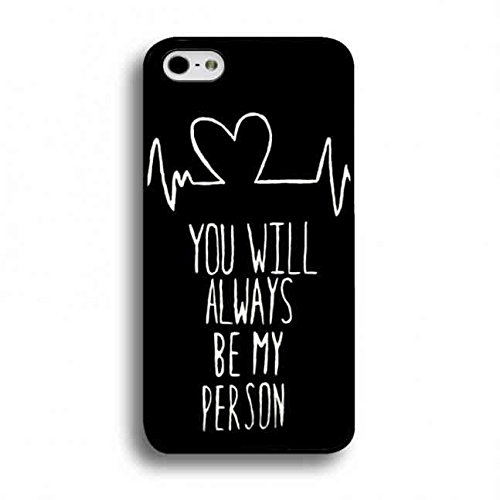 Apple iPhone 6/6S Handy Handytasche,Grey'S Anatomy You Will Always Be My Person Quote Handyhülle,Love Qupte Apple iPhone 6/6S Handyhülle