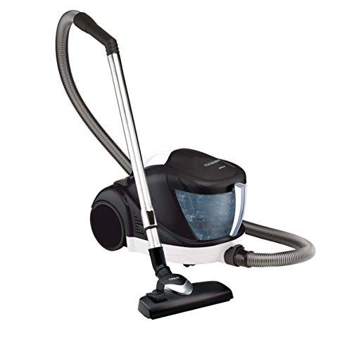 Polti PBEU0091 Aspirador sin bolsa, 1500 W, 1 Liter, 80 Decibelios, Aluminio, plástico, Blanco y negro