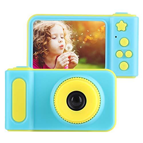 Vbestlife Cámara Digital de Juguete para Niños Videocámara 2.0 Pulgadas 1080P Pantalla Colorida Hermosa Apariencia Regalo de Cumpleaños o Festival para Los Niños(Azul)