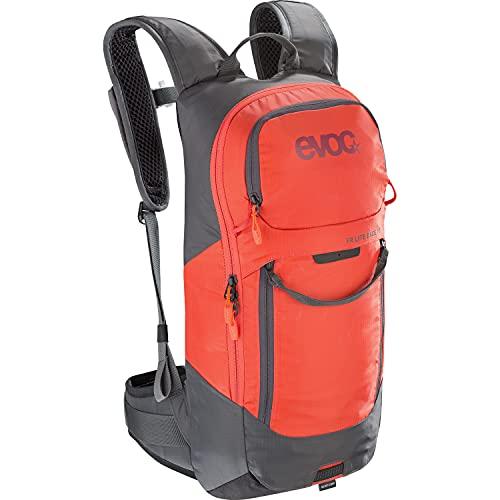 EVOC FR LITE Race Protektor Rucksack, Carbon Grey / Orange, S