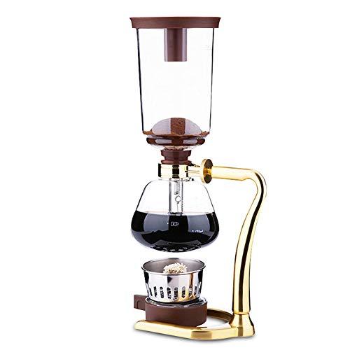 Siphon Kaffeemaschine Belgisch/Belgien Deluxe Royal Balance Manuelles Kochen Siphon Kaffeemaschine Haushaltsglas Siphon Pot mit