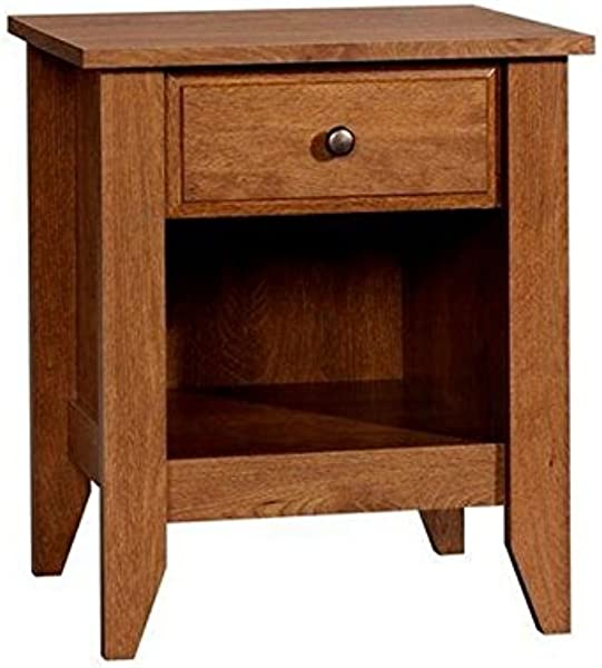 Pemberly Row Nightstand In Oiled Oak