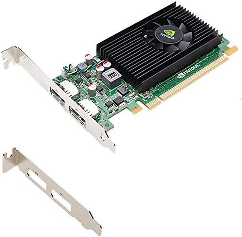 Tarjeta gráfica NVIDIA NVS 310 Quadro de 1 GB DDR3 2 x DisplayPortGraphics con soportes de alto perfil