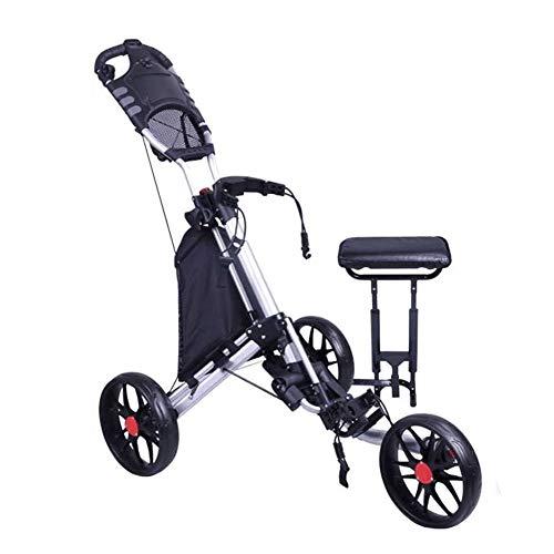 Golf Trolley Golfwagen mit Sitz Wagen Junior Trolley Golf-Trolley