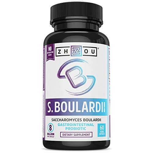 S. Boulardii Probiotic - S. Boulardii Saccharomyces Boulardii Gastrointestinal, Mens & Womens Probiotics - 440 Mg, Shelf Stable Immune Support, Ultimate Flora Probiotic