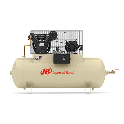 - Ingersoll Rand Electric Stationary Air Compressor - 10 HP,...