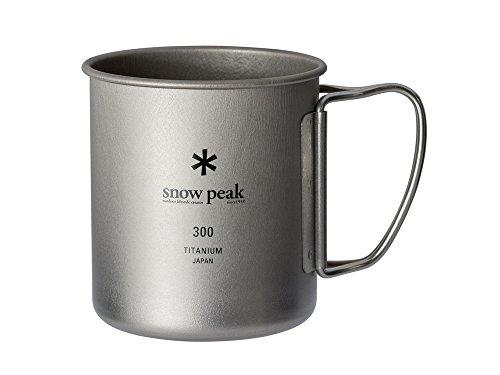 スノーピーク(snow peak) チタン シングルマグ 300 [容量300ml] MG-142
