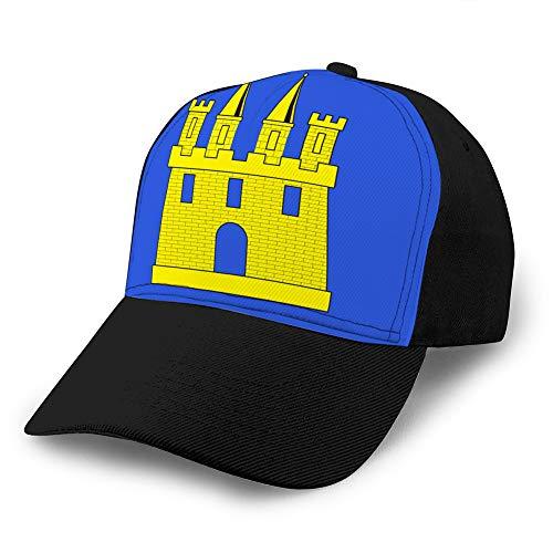 hyg03j4 Gorras de béisbol Unisex Sombrero de papá Liso Ajustable Gorra para...