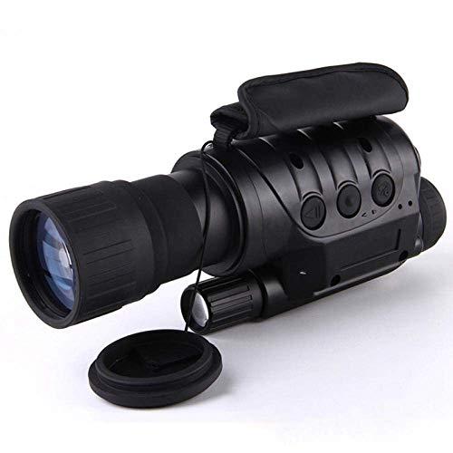 LNHJZ Dispositivo de visión Nocturna monocular infrarrojo Telescopio Alcance Nocturno Noche infrarroja con cámara Grabación de Fotos Video
