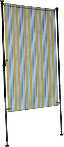 Angerer Balkon Sichtschutz Nr. 900 gelb, 150 cm breit, 2317/900