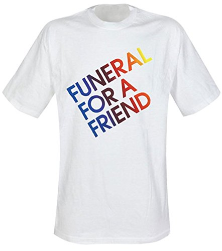 Bravado T-shirt blanc Funeral For A Friend Official Merchandise Logo - Blanc - X-Large