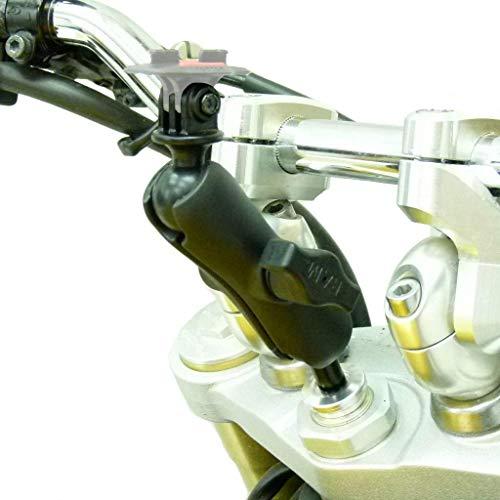 15-17mm Motorrad Gabel Halterung Passend für Tomtom Bandit GOPRO Adapter