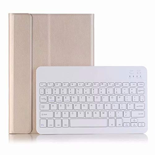 Caja del teclado Bluetooth For la caja de cuero del teclado...