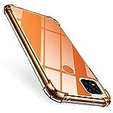 ivencase für Xiaomi Redmi 9c Hülle, Stoßfest Transparent Silikon TPU Soft Premium Hülle Anti-Kratzer Schock-Absorption Durchsichtig Schutzhülle für Xiaomi Redmi 9c