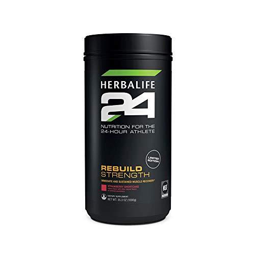 Herbalife 24 Rebuild Strength NET WT: 35.3oz (1000g) - Strawberry Shortcake