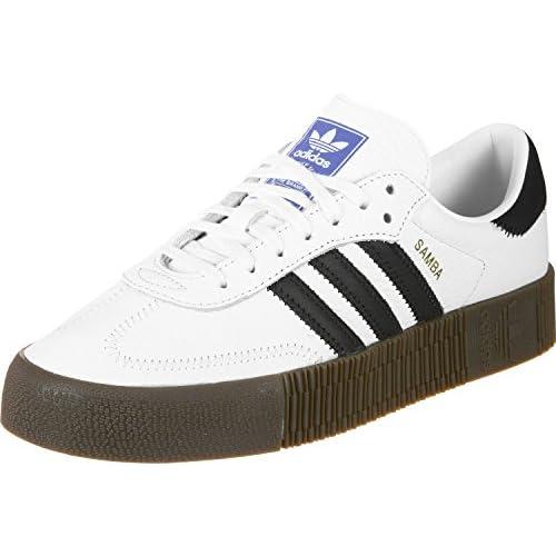 adidas SAMBAROSE W, Scarpe da Fitness Donna, Bianco (Ftwbla/Negbás/Gum5), 38 EU