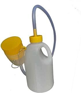 Cama Orinal Botella-Orina Colector-Noche Drenaje PIS Contenedor 1700ml para Hombres para el hogar del Hospital de Viaje