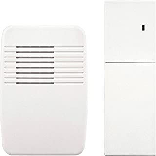 Heath Zenith SL-7357 Wireless Plug-In Door Chime Extender, White